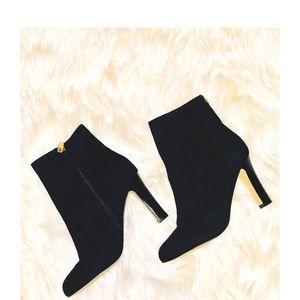 Black Suede Shoe Boots